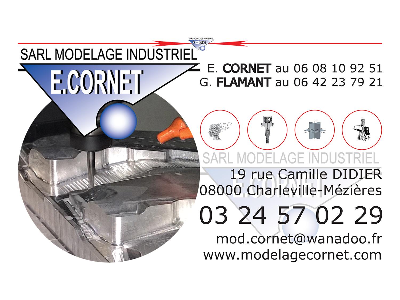 Carte De Visite Modelage Cornet